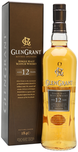 Glen Grant Scotch Single Malt 12 Year 750ml